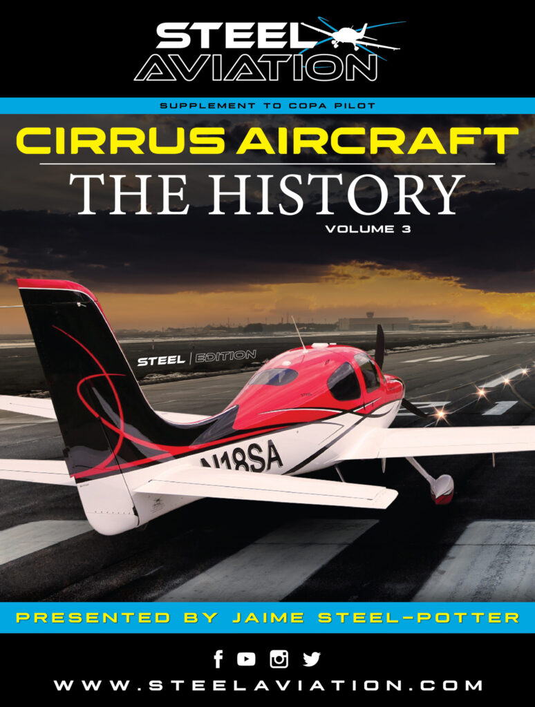 Cirrus History Cover VOL. 3